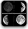 Lunar Phase, Moon Phases Dashboard Widget