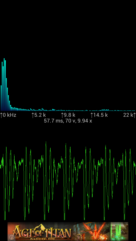 Spectrum Analyzer Android